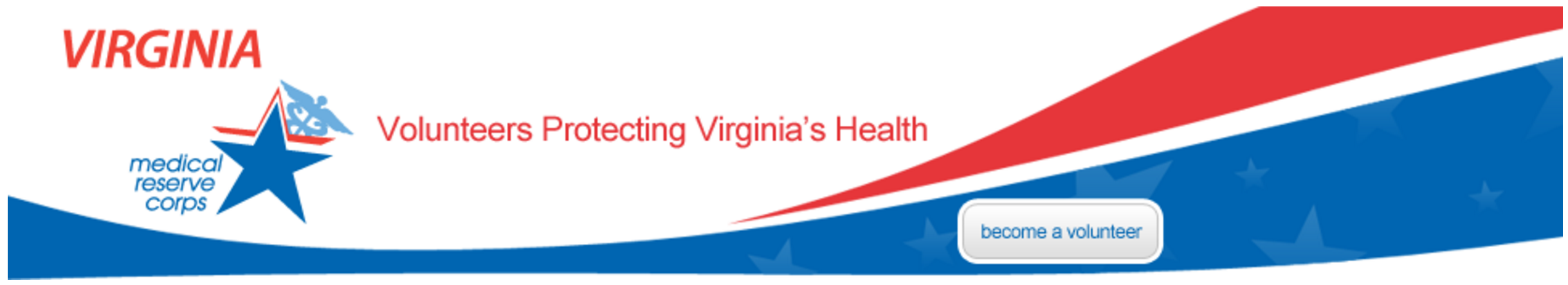 Virginia Medical Reserve Corp Banner
