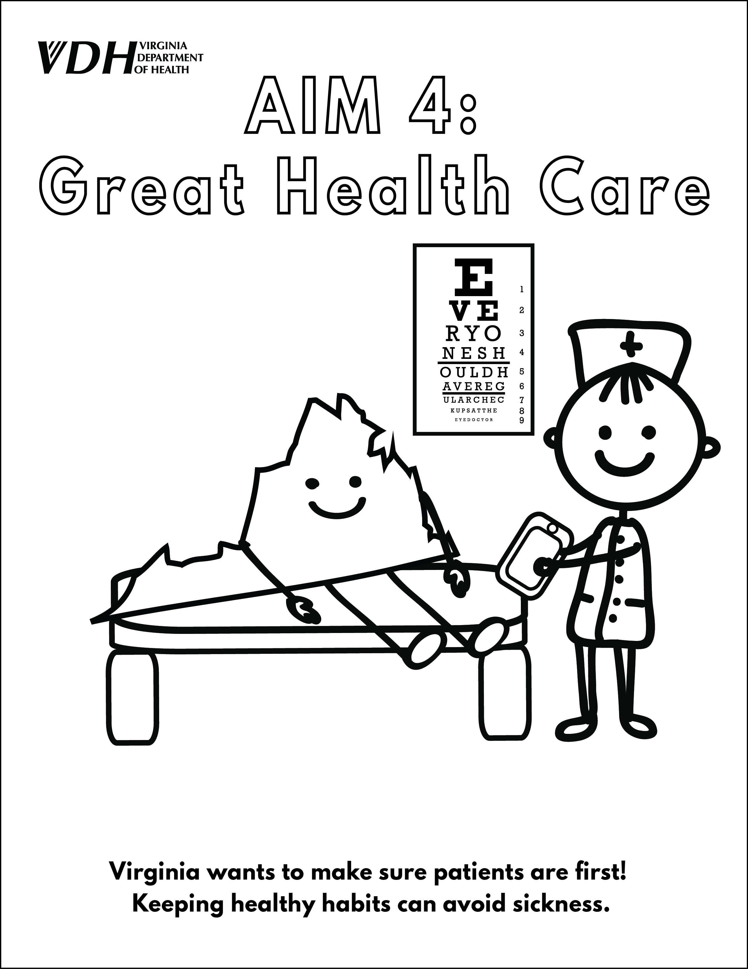 7 habits coloring pages - Free National Public Health Week U Virginia Department Of Health With Healthy Habits Coloring Pages