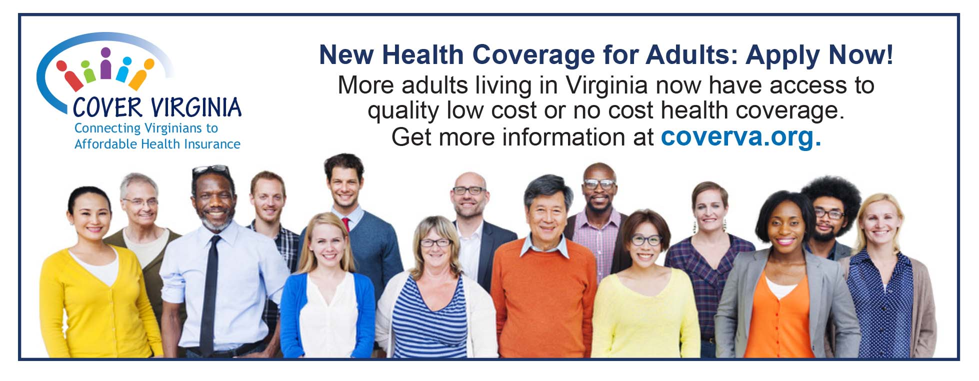 New health coverage for adults living in Virginia