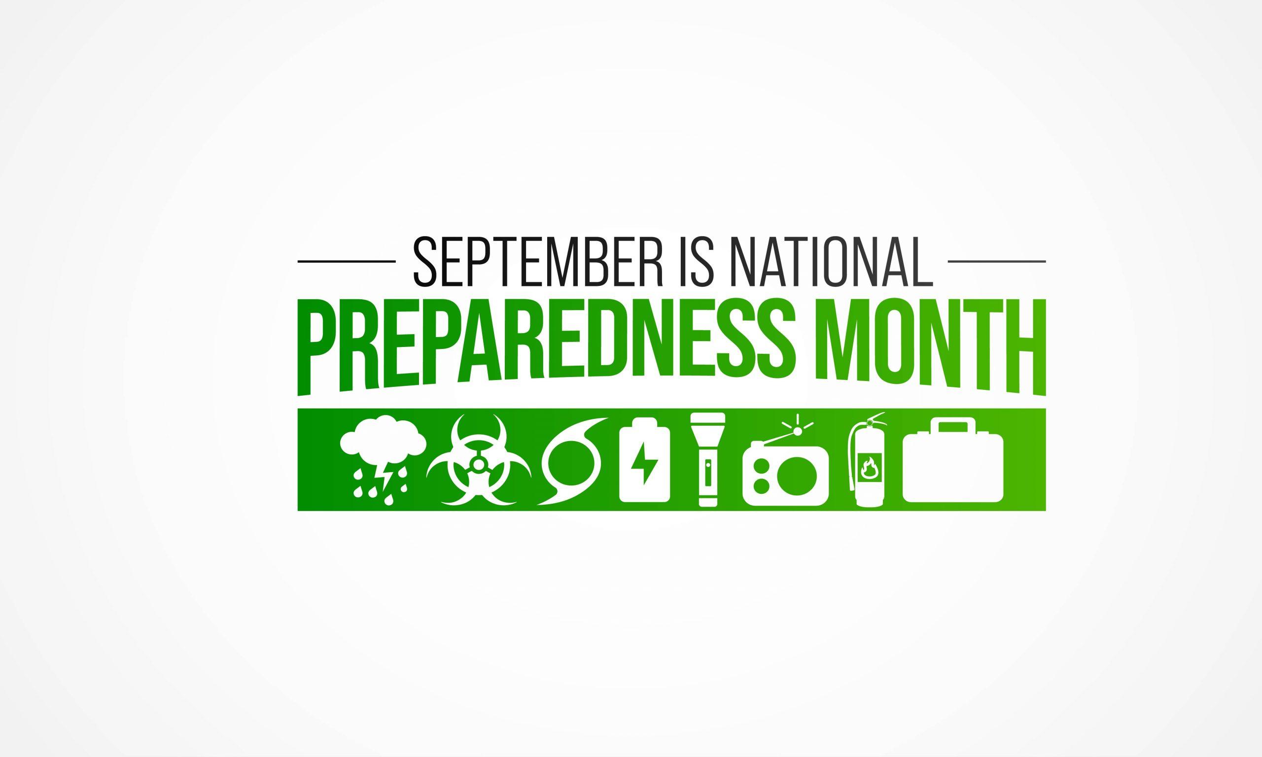 2021 National Preparedness Month