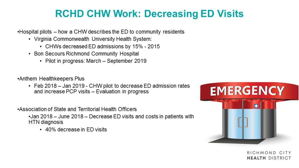 Resource Centers – Richmond City Health Department