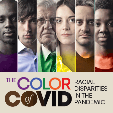 color of covid series