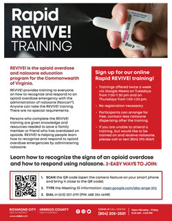 Revive! Training Flyer