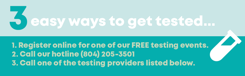 3 easy ways to get tested