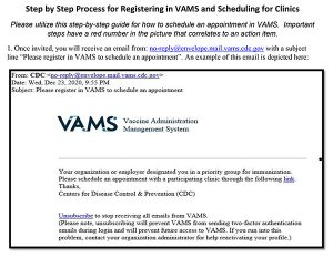 VAMS email image