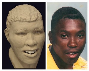Andre Macklin image and facial approximation