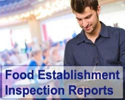 Food Establishment Inspection Reports