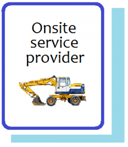 Onsite Service Provider Information