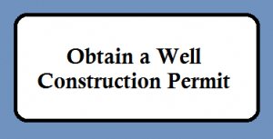 Obtain a Well Construction Permit