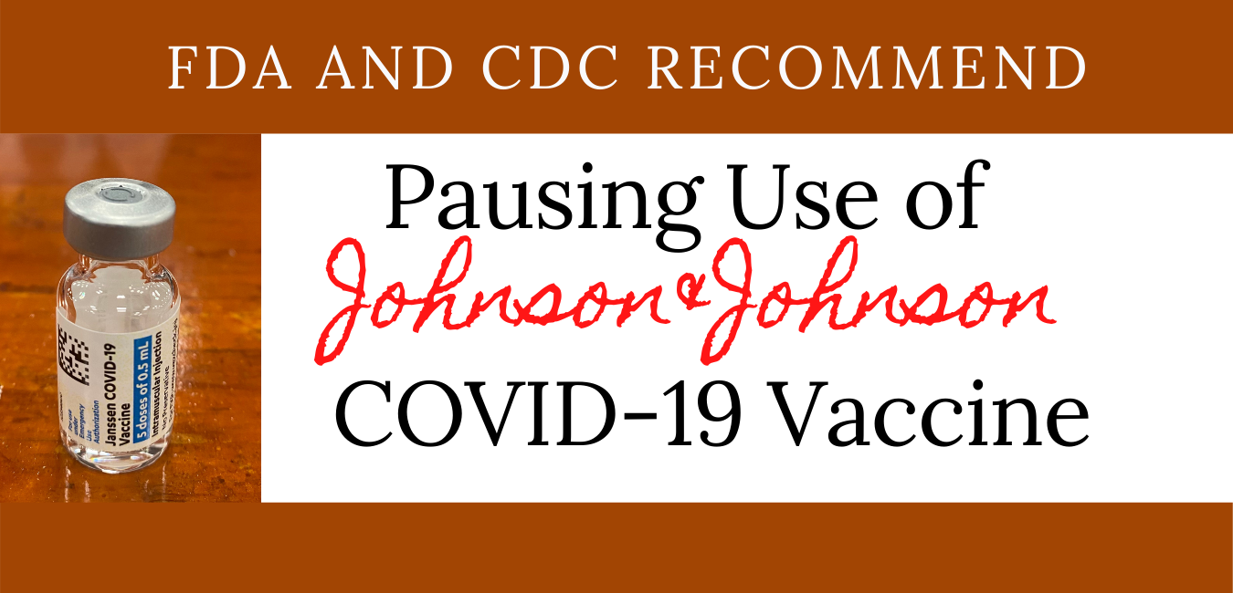 Johnson and Johnson COVID-19 vaccine being halted