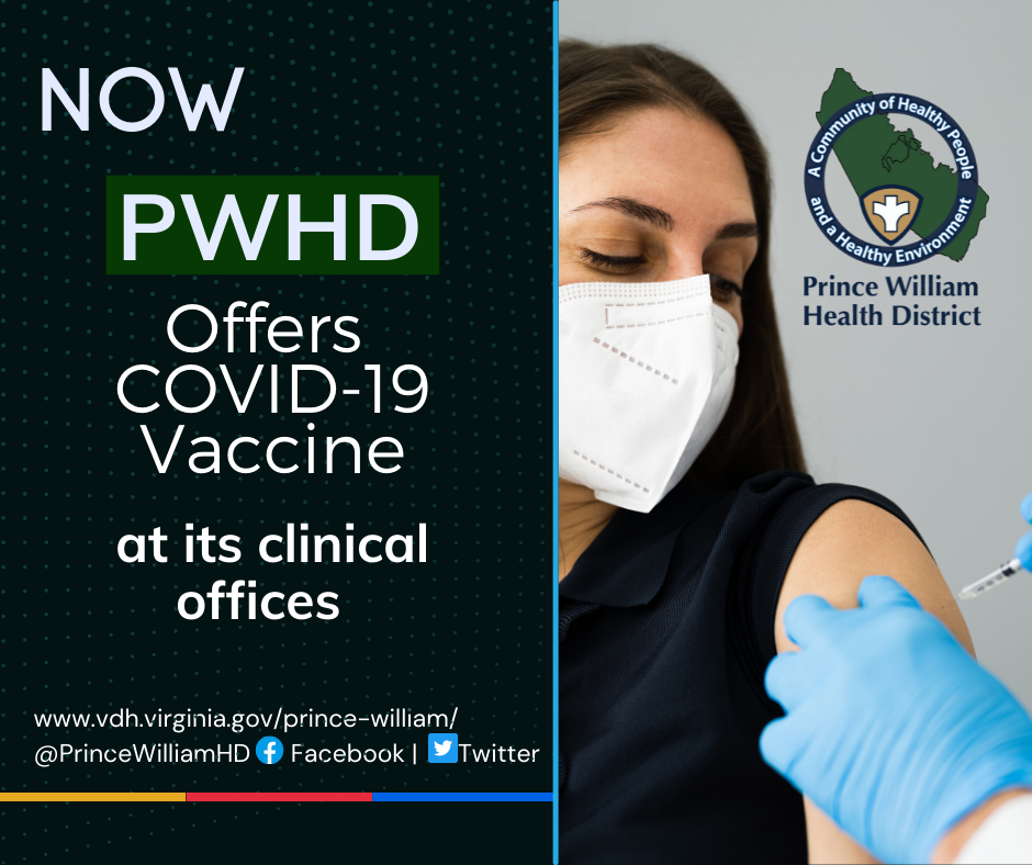 PWHD offers COVID-19 vaccines at its clinical offices beginning Monday, August 2