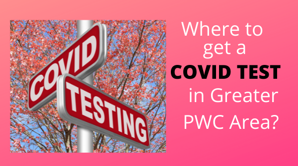 graphic for where to get COVID-19 testing done