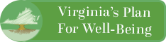 Image of Virginia as a tree. Virginia's Plan for Well-Being