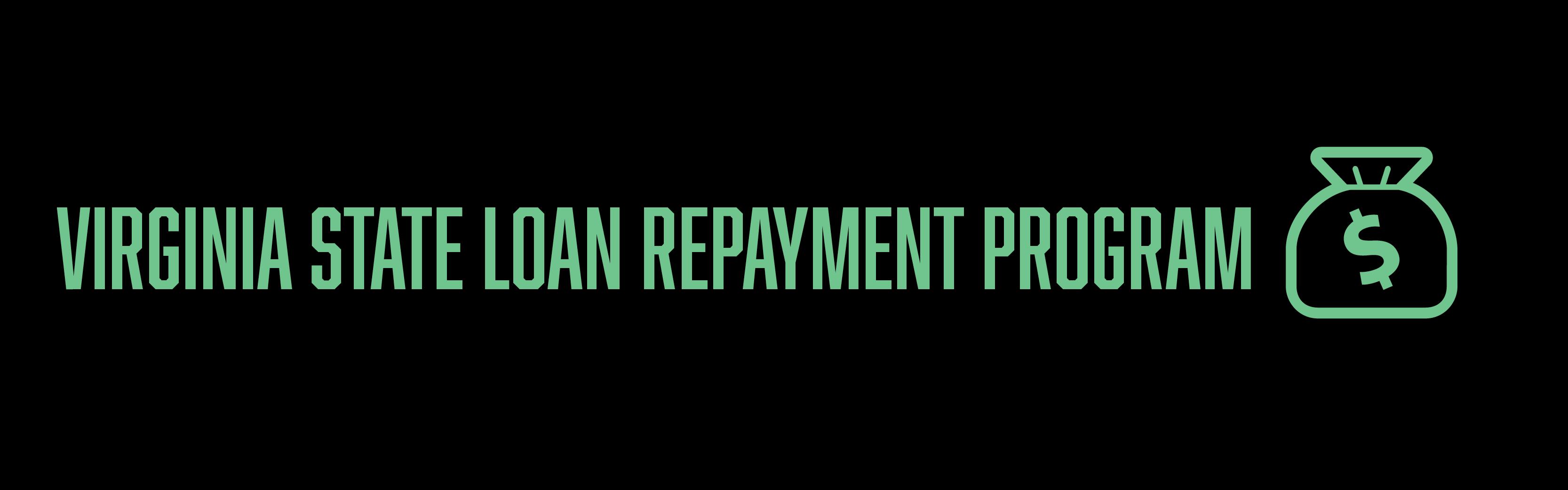 Virginia Loan Repayment Programs Health Equity
