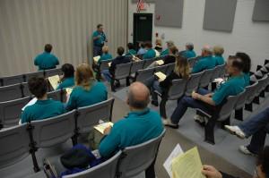 Just-in-Time Training at Staging Site (Auditorium, Eagle Ridge MS)_08Nov2008