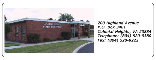 Colonial Heights Health Department