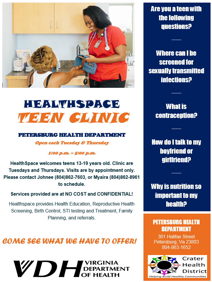 crater health district – just another virginia department of health site