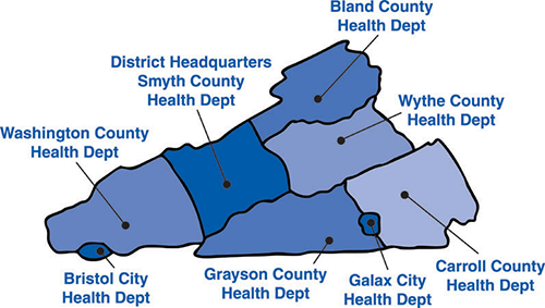 Marion Virginia Map.Locations Mount Rogers Health District